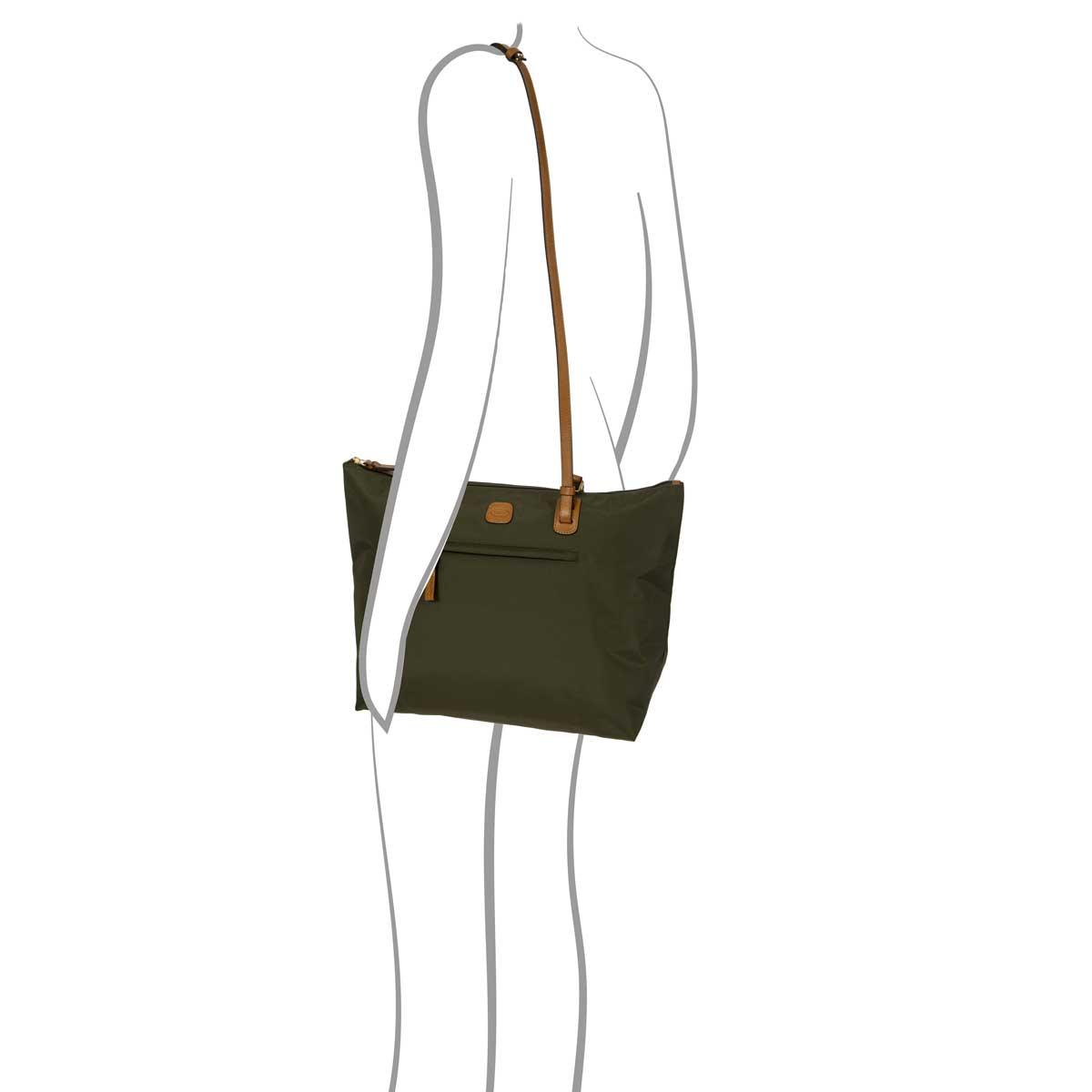 774c282f273 X-Bag Large Sportina 3-Way Shopper Tote Bag - Olive