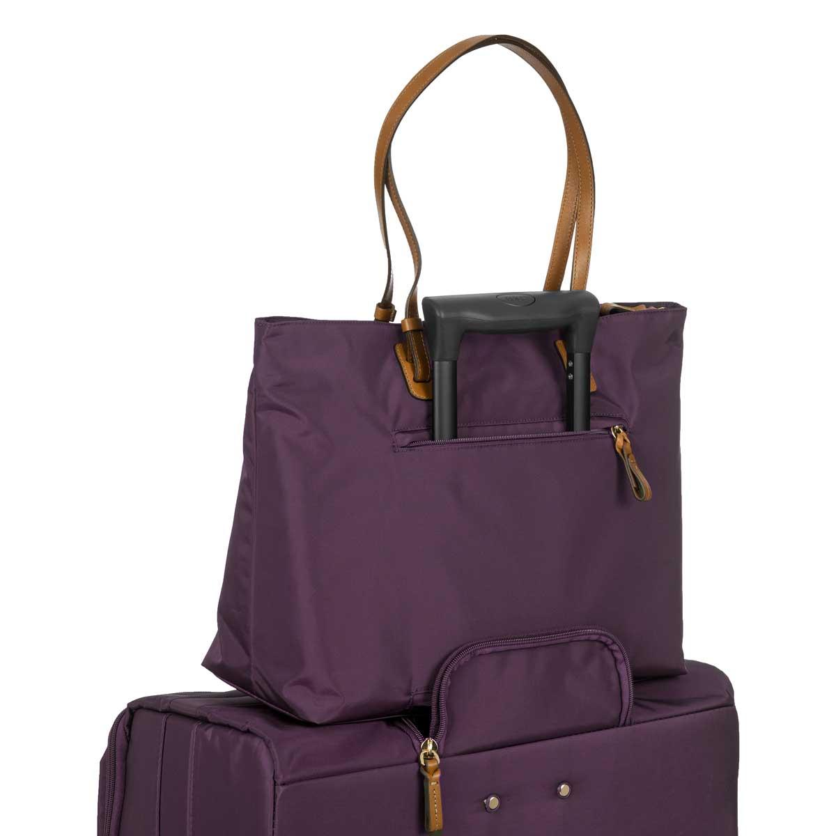 8524a54268c5 X-Bag Women's Business Tote Bag - Purple