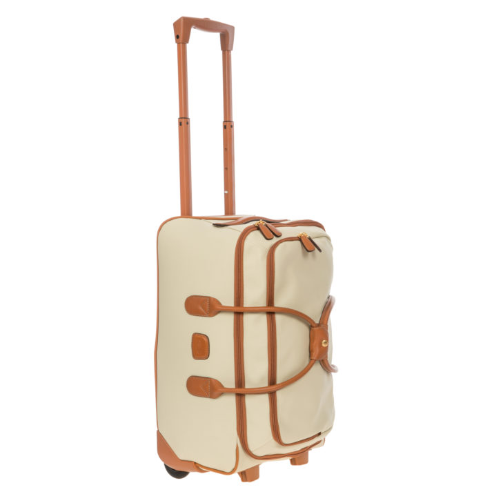 "Firenze 21"" Carry-On Rolling Duffle Bag"