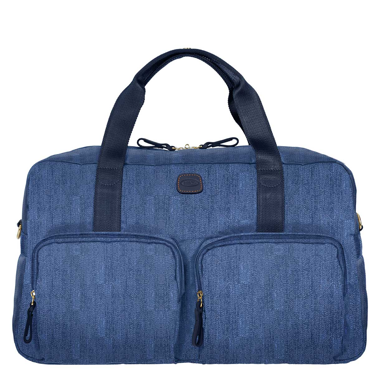 X-Bag Boarding Duffle Bag with Pockets - Jean Blue | Brics Travel Bag
