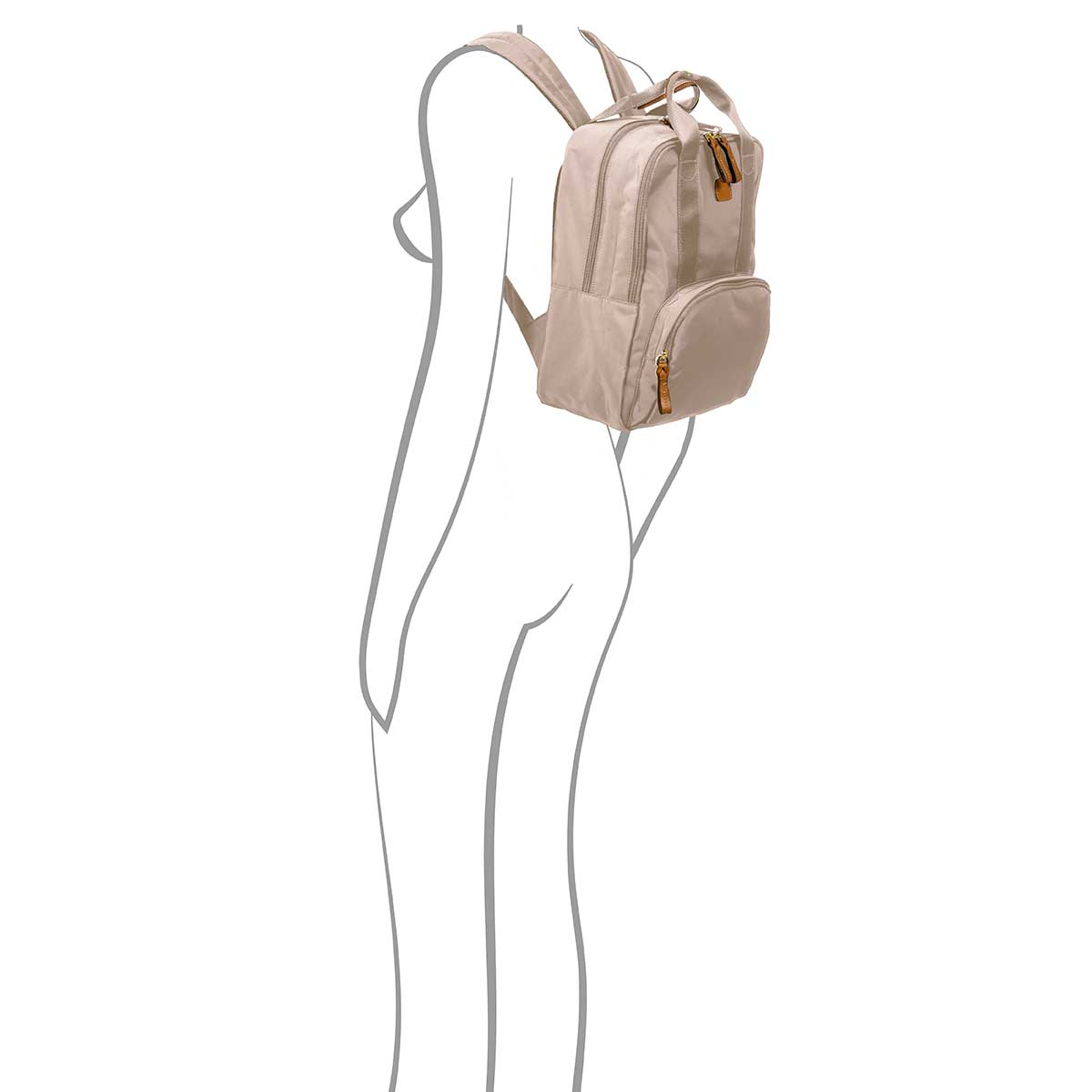 X-bag Urban Backpack - Papyrus | BRIC'S Travel Bags