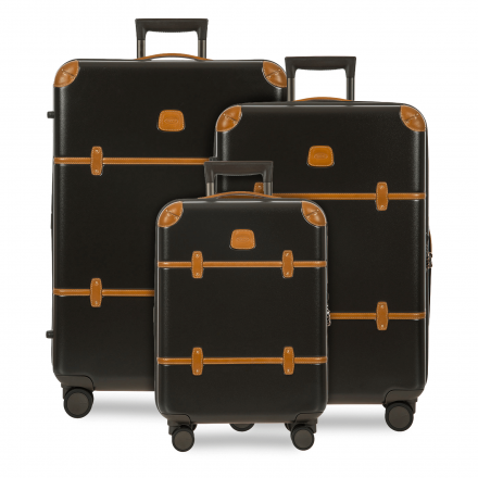 BRIC'S Bellagio 3-Piece Luggage Set in Black