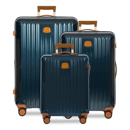BRIC'S Capri 3-Piece Luggage Set in Blue