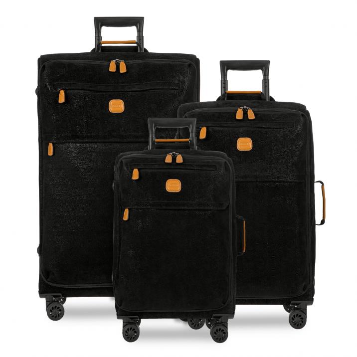 BRIC'S Life Tropea 3-Piece Luggage Set in Black