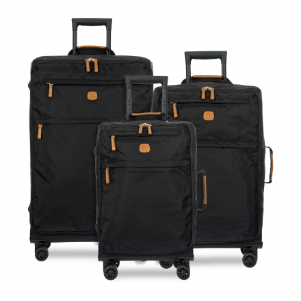 BRIC'S X-Bag Spinner Nylon Luggage Set in Black