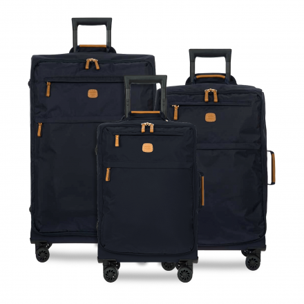 BRIC'S X-Bag Spinner Nylon Luggage Set in Navy