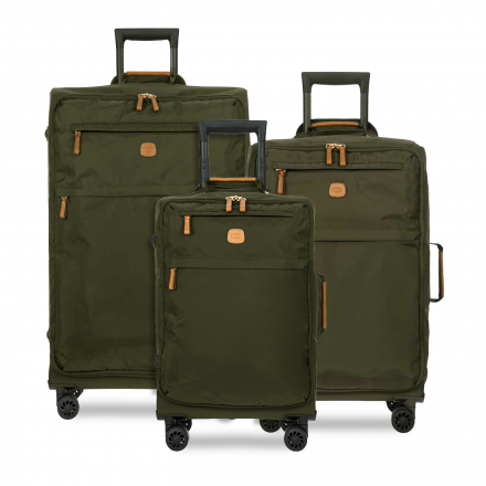 BRIC'S X-Bag Spinner Luggage Set in Olive