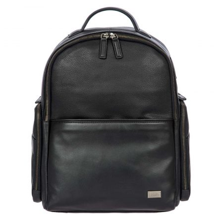 Torino Business Backpack - Black | Brics Travel Bags