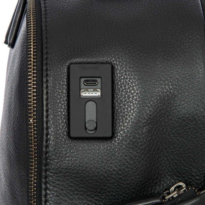 Torino Business Backpack - Black   Brics Travel Bags