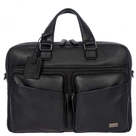 Torino Briefcase - Black | Brics Travel Bags
