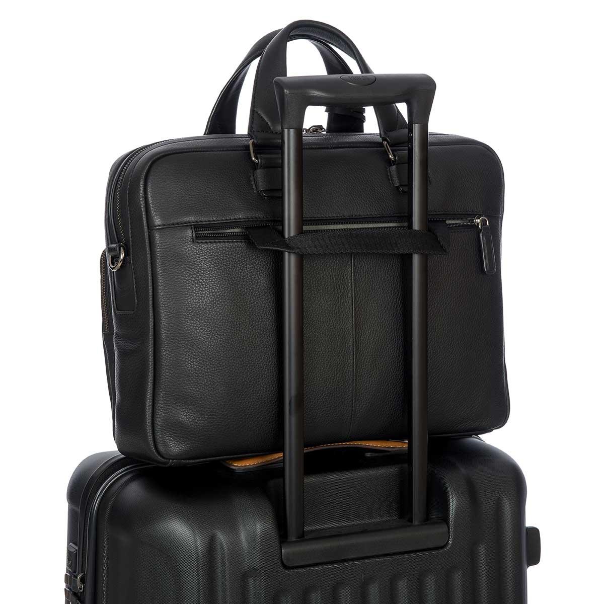 41e0fcaa91c6 Torino Business Briefcase – Black