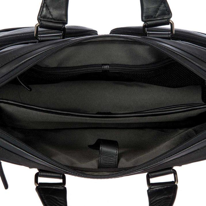 Monza Briefcase - Black | BRIC'S Luggage