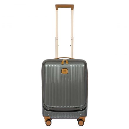 "Capri 21"" Spinner with Pocket - Gray 