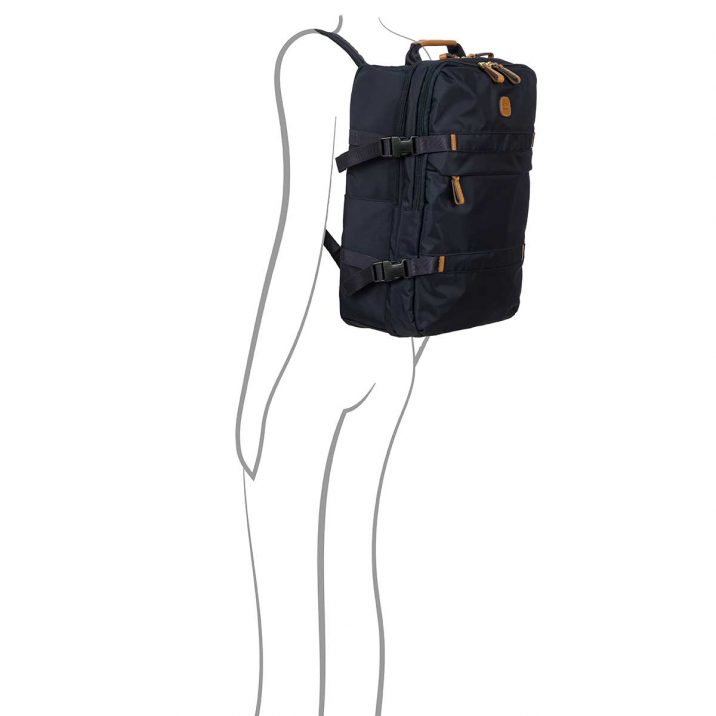 X-Bag Montagna Backpack - Blue | BRIC'S Travel Bag