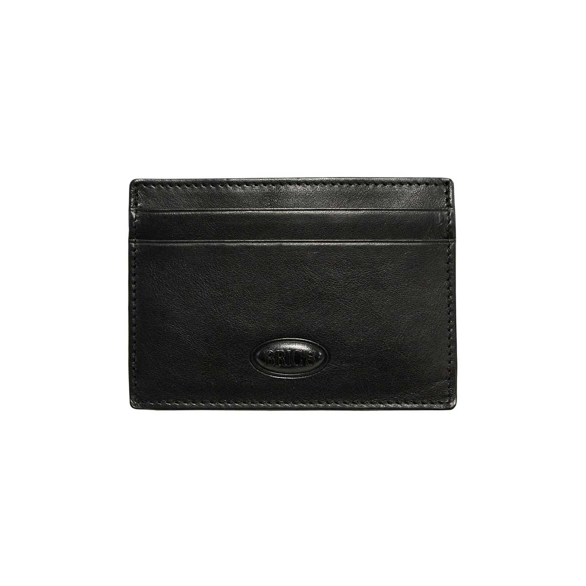 on sale 5c29d 14fa6 Monte Rosa Slim Card Case with Money Clip - Black