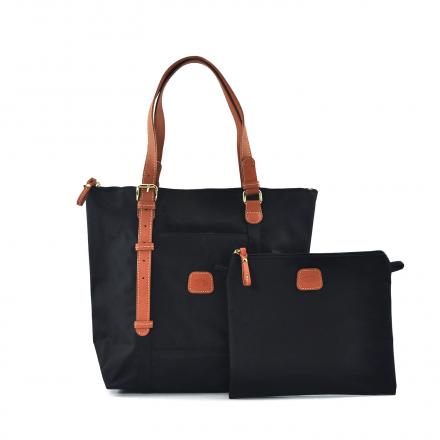 9f05a704c7 X-Collection Basic 3-Way Shopper – Black