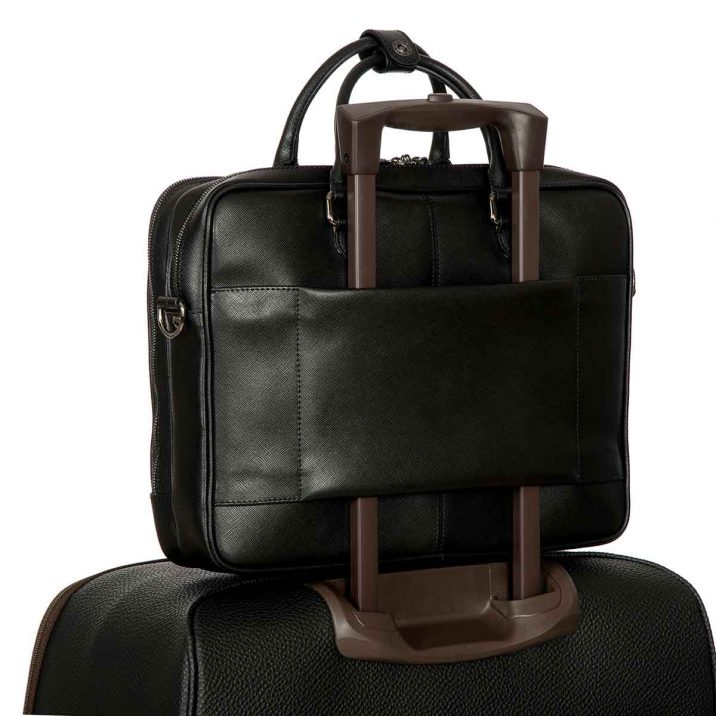 VARESE BUSINESS BRIEFCASE LARGE- BLACK