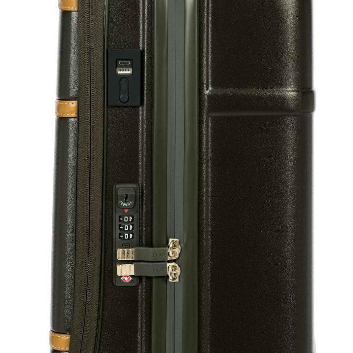 "Bellagio 21"" Pocket Spinner Trunk - Olive"