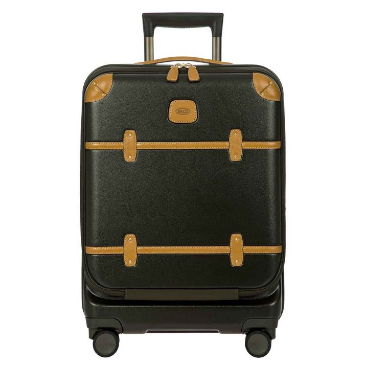 "Bellagio 21"" Pocket Spinner Trunk - Olive"