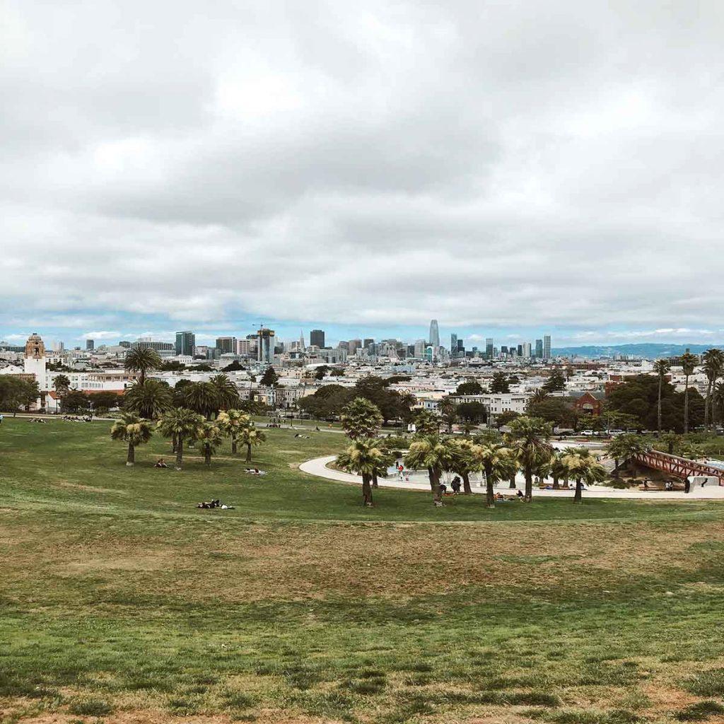 Mission Dolores park