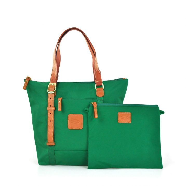 X-COLLECTION BASIC 3-WAY SHOPPER - GREEN