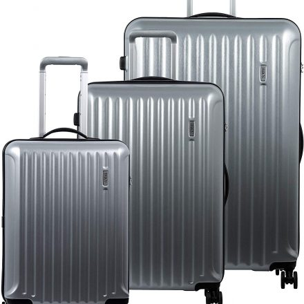 Riccione Brushed Silver 3 piece set